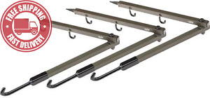 HME Products - Folding Bow Hanger (Pack of 3)