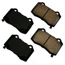 Disc Brake Pad Set-SS Rear Akebono ASP1053