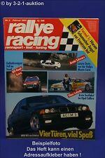 Rallye Racing 2/95 BMW M3 Schnitzer Saab 900 Porsche
