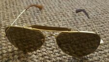 Ray-Ban RB3422Q 001/M9 58-14, Outdoorsman Craft, Leather, Green Polarised lenses