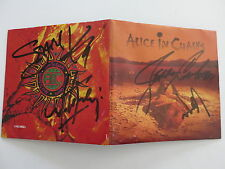 ALICE IN CHAINS SIGNED DIRT CD BY ALL 4 MEMBERS COA + PROOF! LAYNE STALEY