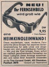 BINO-SCOPE TV-Brille, Produkt aus 1967! Kultiges Teil, originalverpackt