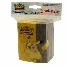 Pokemon Pikachu Deck Box Card Protection for Pokemon Trading cards Sealed pack