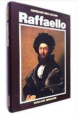 Libro Raffaello Sanzio Urbino Perugia Firenze Roma Germano Mulazzani Rusconi
