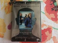 Being John Malkovich Dvd Special Edition Cusack & Diaz New Factory Sealed