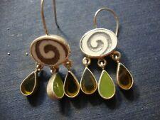 Sterling Silver Earrings Rare Ji Estate 925