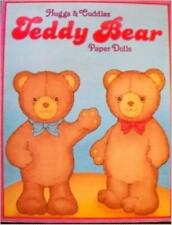 Malcolm Whyte & Terra Muzick - Huggs and Cuddles Teddy Bear Paper Dolls [Uncut]