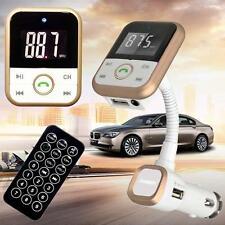 LCD Car Bluetooth MP3 Player SD USB Remote FM Transmitter Modulator For Phone GA