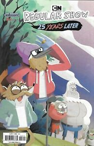 Regular Show Comic 3 25 Years Later Cover A Cristina Rose Chua First Print 2018