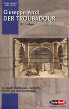 AZ ATLANTIS-SCHOTT PAHLEN :  VERDI -  DER TROUBADOUR   TEXTBUCH   I / D