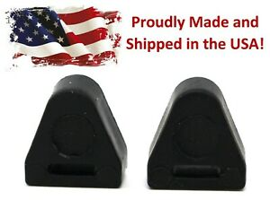 2 Pack Tailgate Latch Rubber Bumper Stop 16633065 LH & RH fits ChevySilverado GM