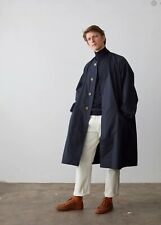 Studio Nicholson Navy Milton Coat (size:M)