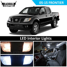 WHITE LED Interior Light Accessories Kit fits 2005-2015 Nissan Frontier 5 BULBS