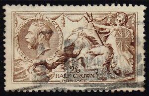 George V 1915 2s.6d. pale brown, used (SG#407)