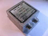 Comprod 445-75 AM-FM Broadcast Coupler 138-174MHz - USED Qty 1