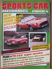Sports Car Mechanics September October 1983 Reliant Scimitar Triumph TR5 TR6 GTE