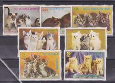 equatoria guinea 1977 cats,set MNH     m1395