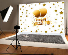 Happy Birthday Theme Photo Background 7x5ft Vinyl Studio Photography Backdrops
