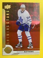 2017-18 Upper Deck SR1  Shining Stars RED #SSC-1 Auston Matthews Toronto Leafs