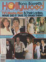 MARCH 1979  RONA BARRETT HOLLYWOOD vintage movie magazine TRAVOLTA - ESTRADA