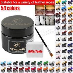Leather Repair Filler Cream Kit Restore Car Seat Sofa Scratch Scuffs Hole Rip
