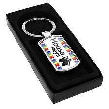 House Keys Keyring - Gift Idea Fob Home Apartment Flat Present Bungalow Cool #6