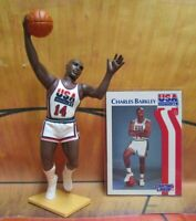 1992  CHARLES BARKLEY Starting Lineup Basketball - DREAM TEAM USA Figure & Card