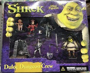 Shrek  Duloc Dungeon Crew (Set B). McFarlane Toys 2001 -NEW-