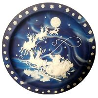 Bradex TWAS THE NIGHT BEFORE CHRISTMAS COLLECTOR'S PLATE NO.84-131-12.1