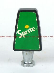 Scarce 1970s Green/White SPRITE Fountain tap handle