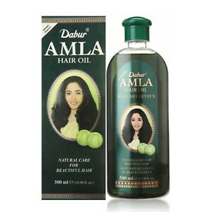 Dabur Amla Hair Oil for beautiful hair - 500 ml Bottle - free 3 days shipping