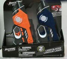 NEW Adventure Force 2pk Laser Blaster Orange/Blue/Grey