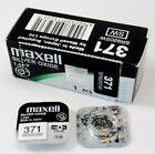 Pile pour montre 371 V371 SR920SW SR69 Maxell Made in Japan livraison gratuite