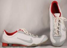 new concept e3101 f6969 Men s Nike Shox Rival White Silver Premium Sneakers US 12 UK 11 EUR 46