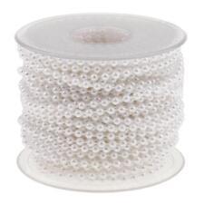 20 Mètres Perle Chaîne Guirlande Motif Mariage Décoration Bricolage