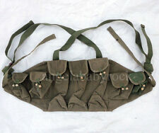 Surplus Chinese Army Canvas Type56 Auto Ammo Pouch RUSSIAN TYPE chest rig -0088