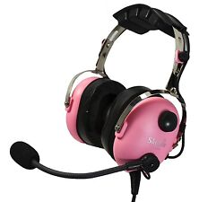 SL-900MC Pink SkyLite PNR Aviation Headset ~ MP3 Input ~ Children/ Female Pilots