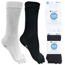 IOMI - Mens & Womens Lightweight Coolmax Cotton Toe Socks for Athletes Foot