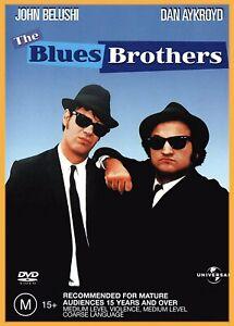 BRAND NEW The Blues Brothers - John Belushi Australian Region 4 DVD FREE POST