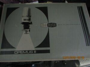 BOXED Meopta Czech Republic Photographic Enlarger Opemus III 1959 B/W