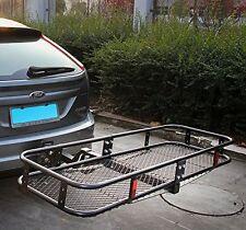 "Merax 60"" Folding Truck Car Cargo Carrier Basket Luggage Rack Hitch 2"" Receiver"