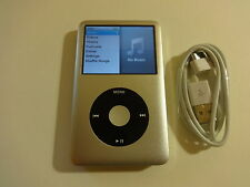 Apple Ipod Classic 7Th Gen. CustOm Silver/Black 128Gb. Ssd Drive.