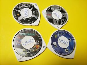 Lot of 9 PSP Game Disc's Sony PlayStation Portable