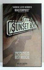 Sunset Blvd Poster Plate Mounting Frame Adelphi Theatre Dewynters London