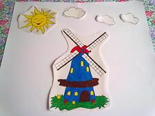 Window Color Bild Windmühle