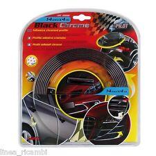 20890  Profilo adesivo cromato nero - 4 m - 14 mm