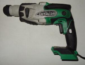 Hitachi DH18DSL 18V Cordless Li-Ion SDS Hammer Drill Bare Tool No Reserve!