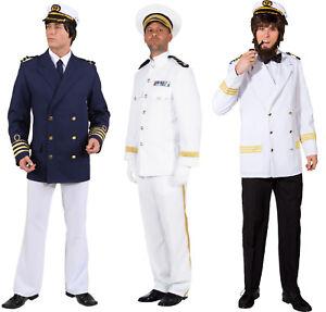 Kapitän Jacke Matrosen Kostüm Jacket Mariene Seemann Offizier Kapitäns Uniform