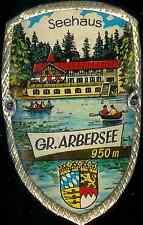 Gr. Arbersee used hiking medallion Badge Stocknagel G0845