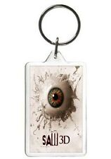 SAW 3D NOVELTY KEYCHAIN PHOTO PICTURE KEY CHAIN